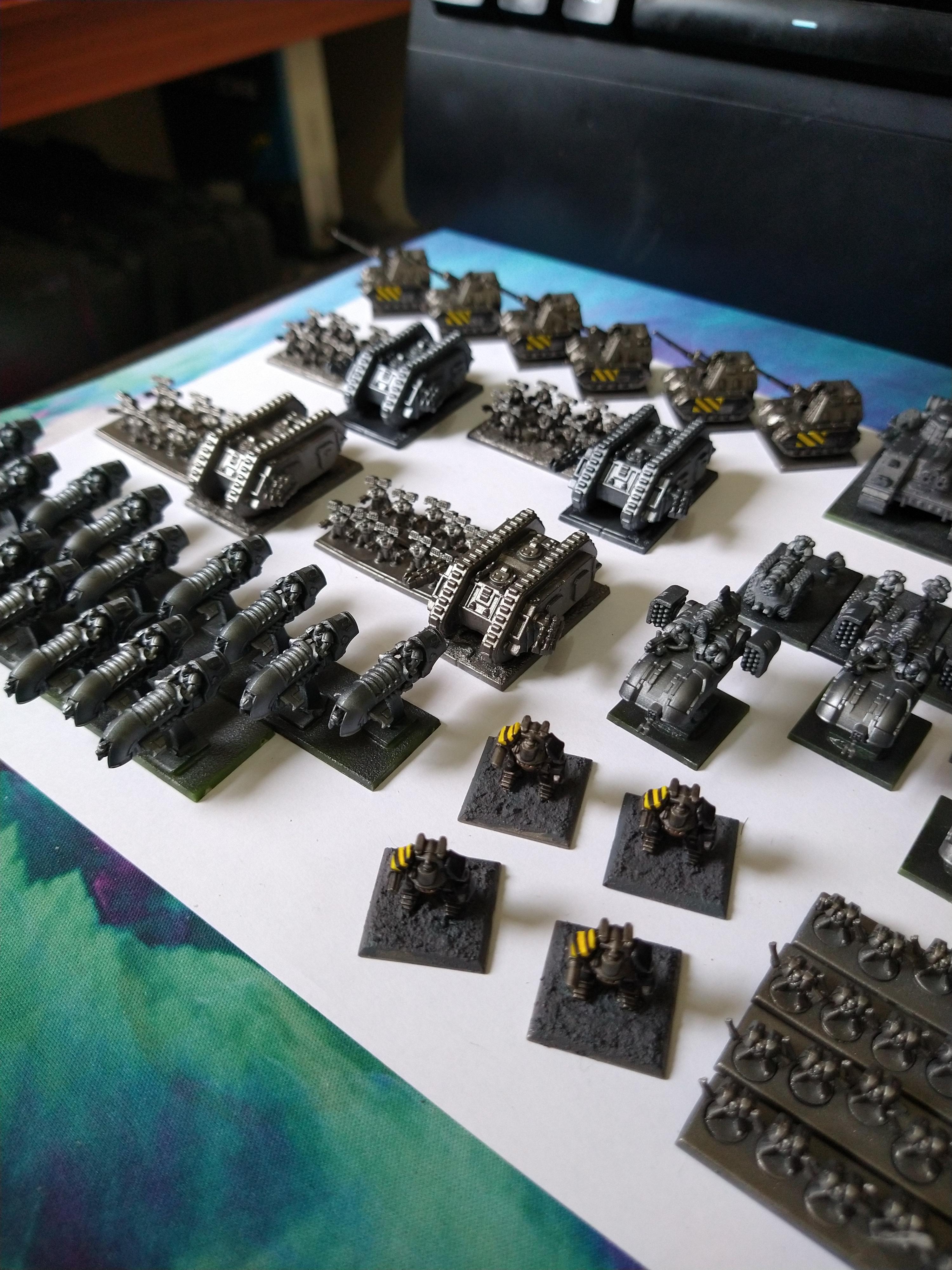 6mm, Epic, Epic 30k, Iron Warriors