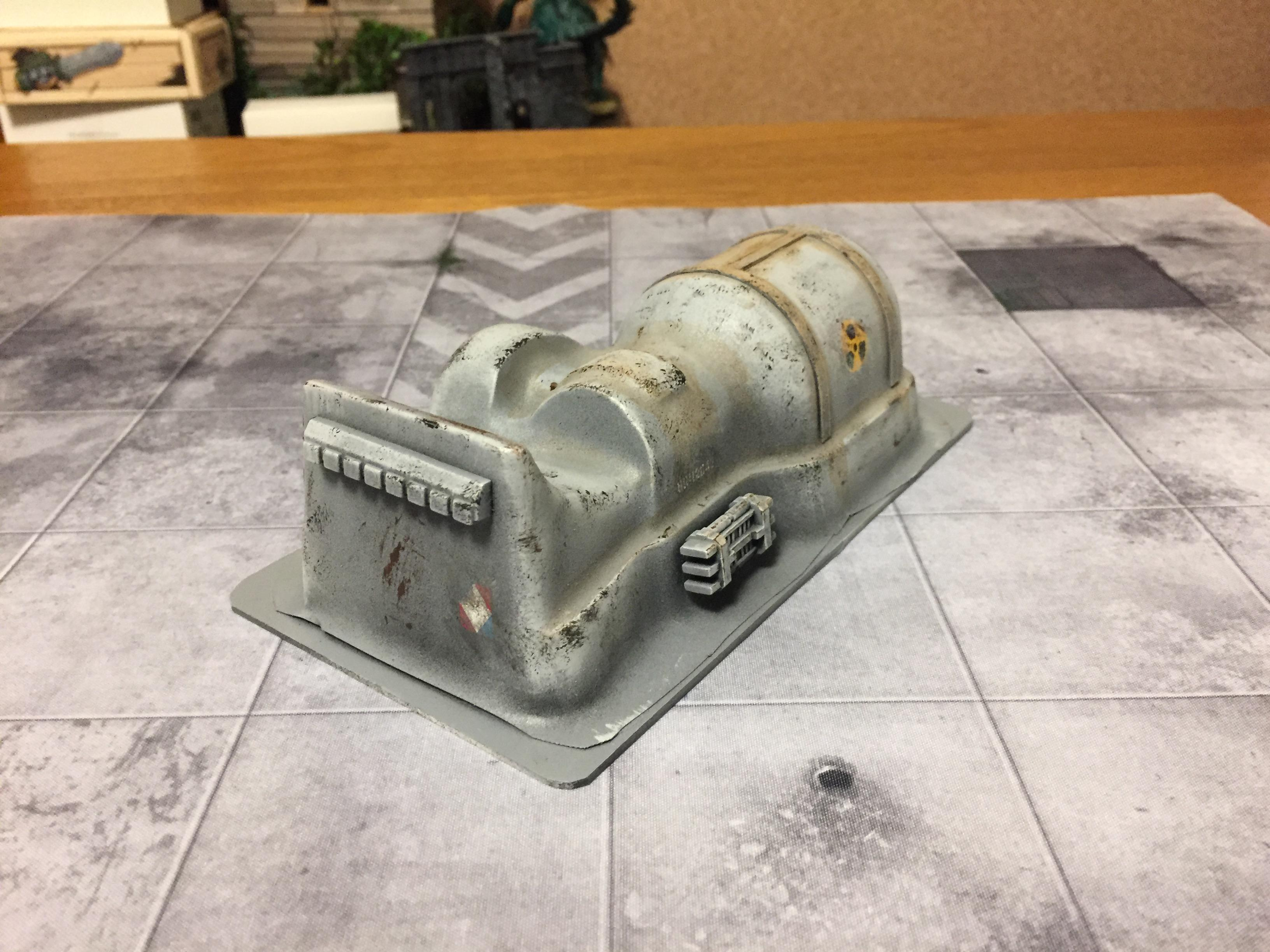 August 2021, Maelstrom's Edge, Packaging, Recycled, Science-fiction, Terrain, Trash