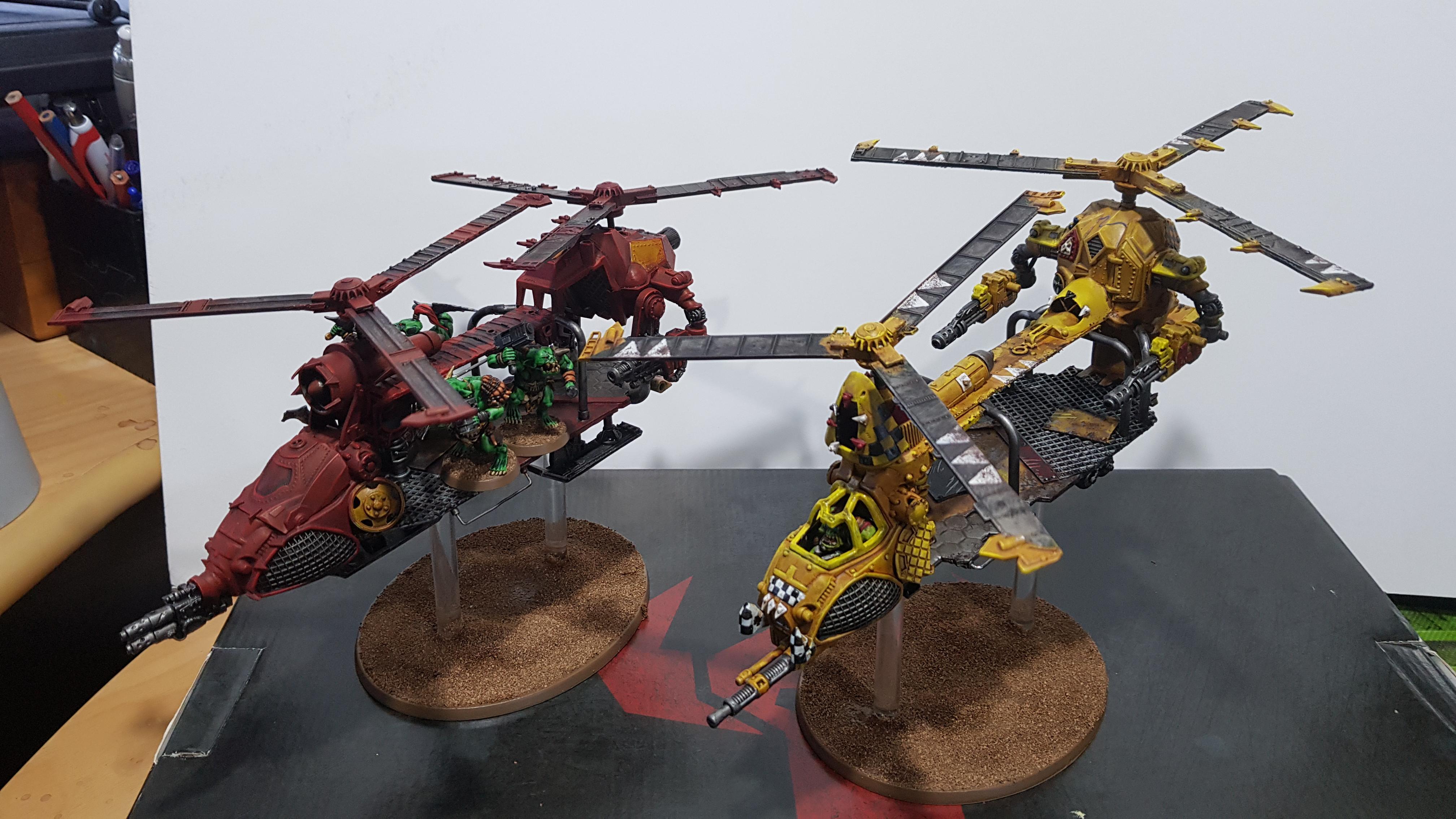 Chinork, Conversion, Orks, Warhammer 40,000