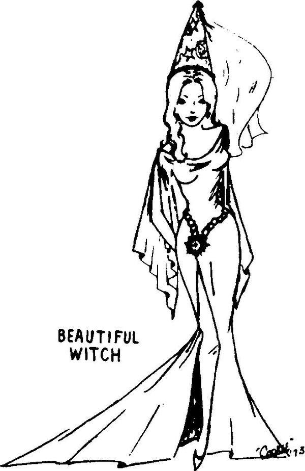 Dungeons And Dragons, History, Princess, Witch