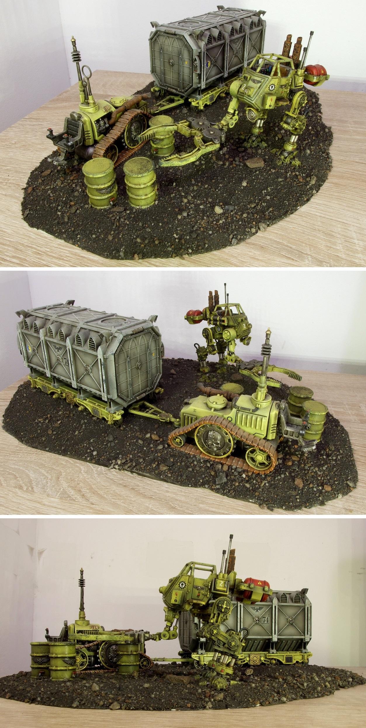 Container, Industrial, Sentinel, Terrain, Warhammer 40,000