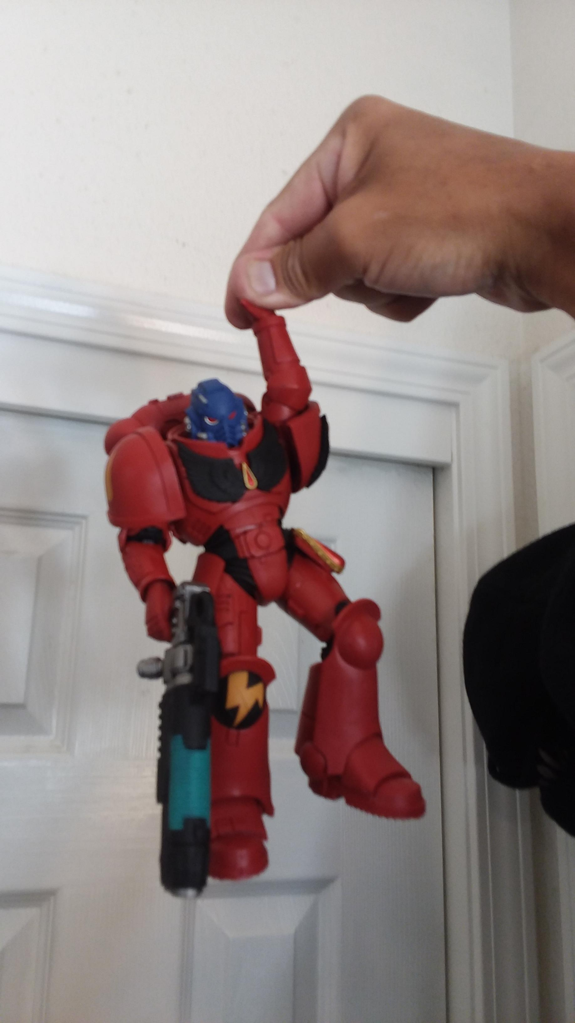 Action Figure, Space Marines, Toy