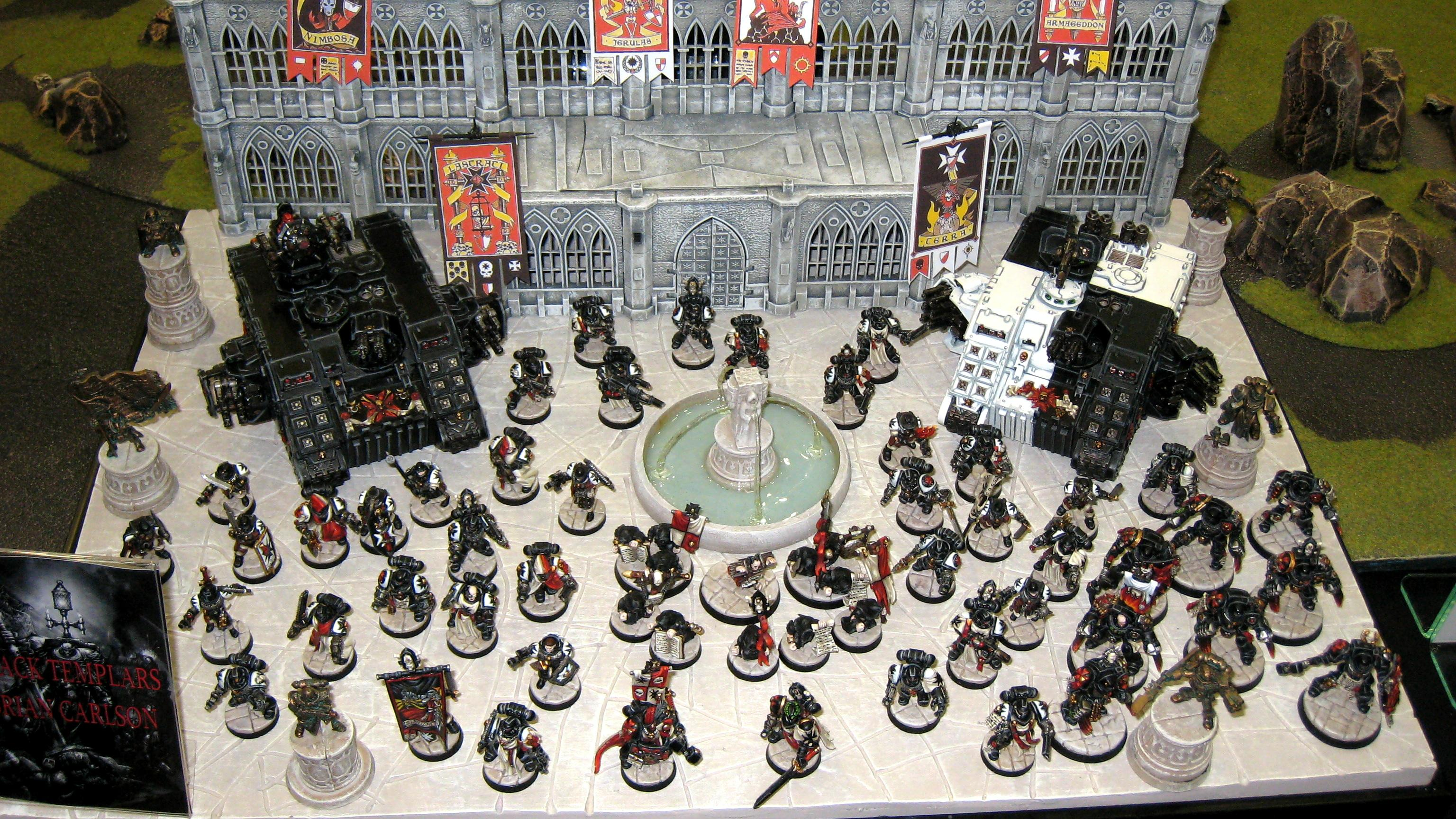 Warhammer 40000 Space Marines Black Templars Vente au détails Rabiots Bitz Sprue