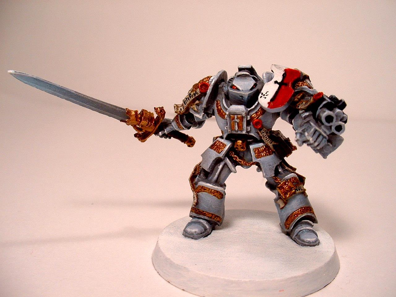 Daemonhunters Grey Knights Terminator Armor Warhammer 40000