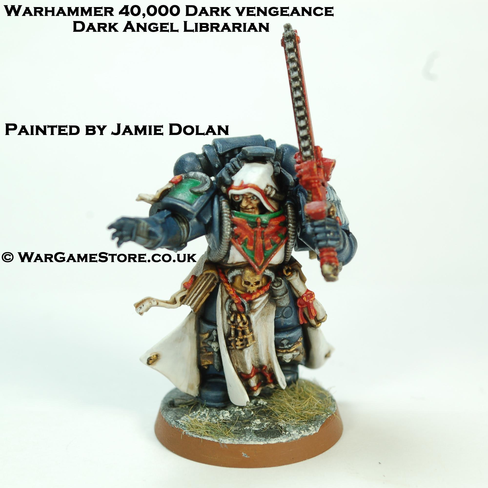 Warhammer 40k Dark Vengeance Librarian
