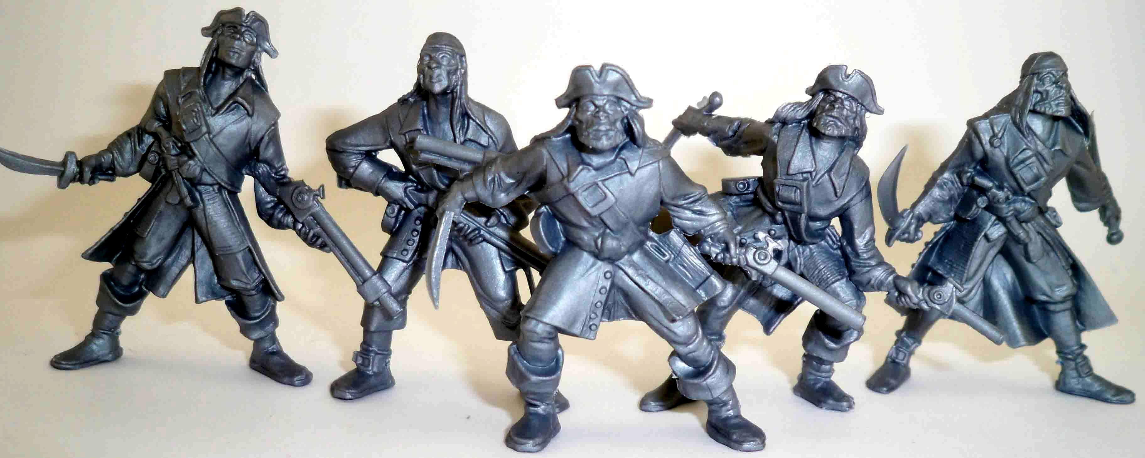 54mm. Toy Soldier Pirate