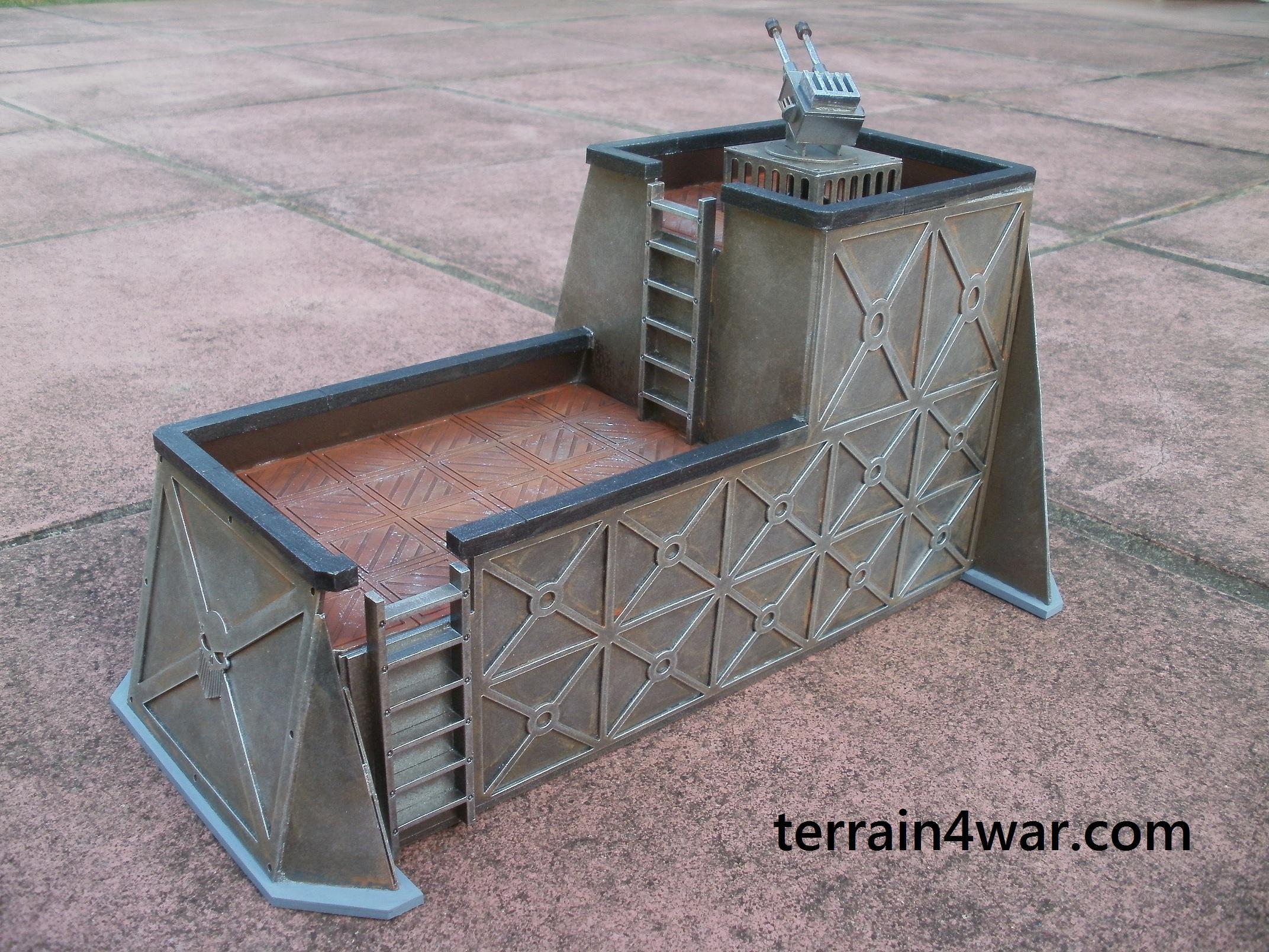 Buildings, Bunker, City, Stronghold, Terrain, Terrain4war