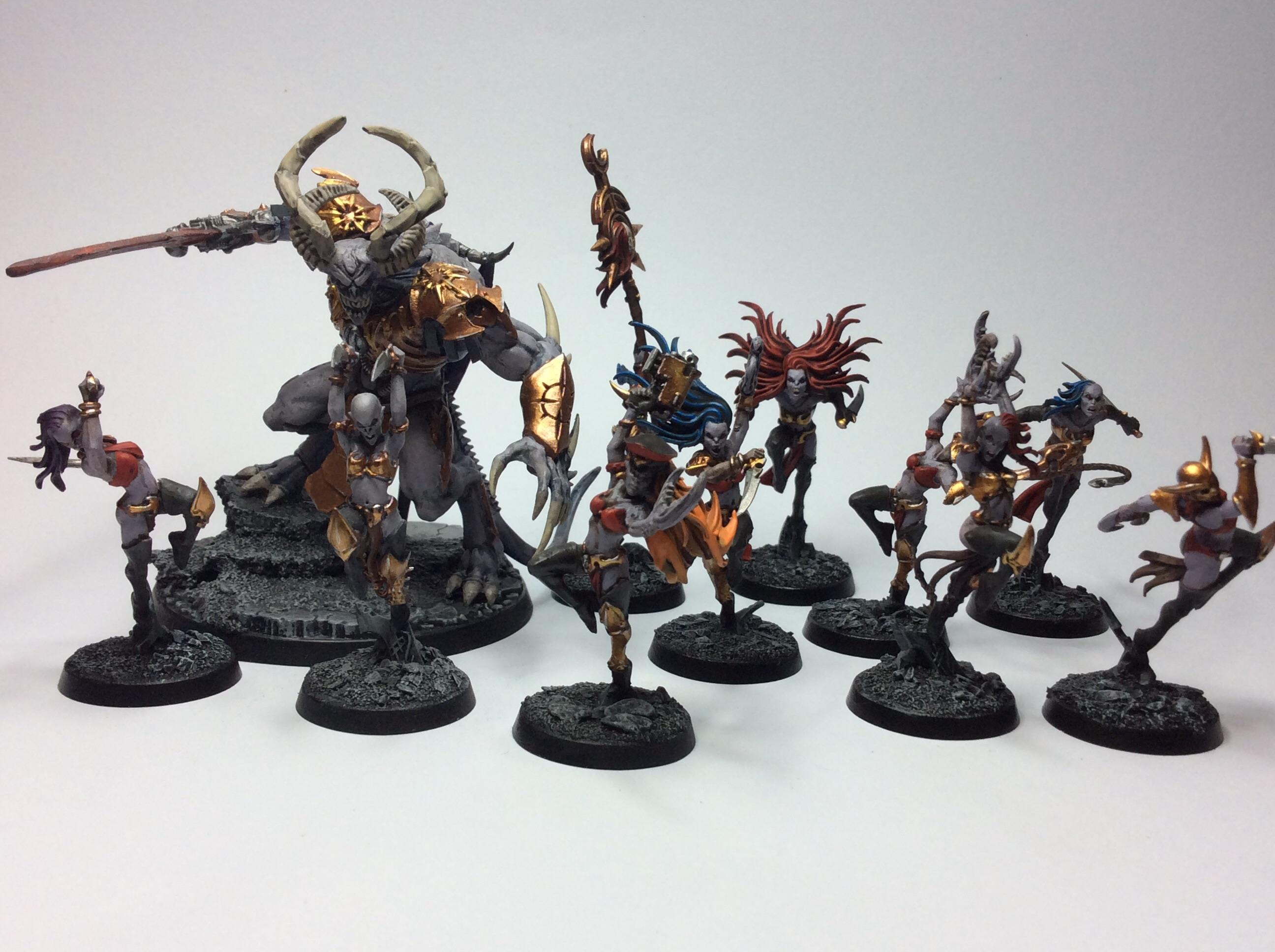 Bits hosts of slaanesh daemonettes of slaanesh chaos warhammer aos 40,000