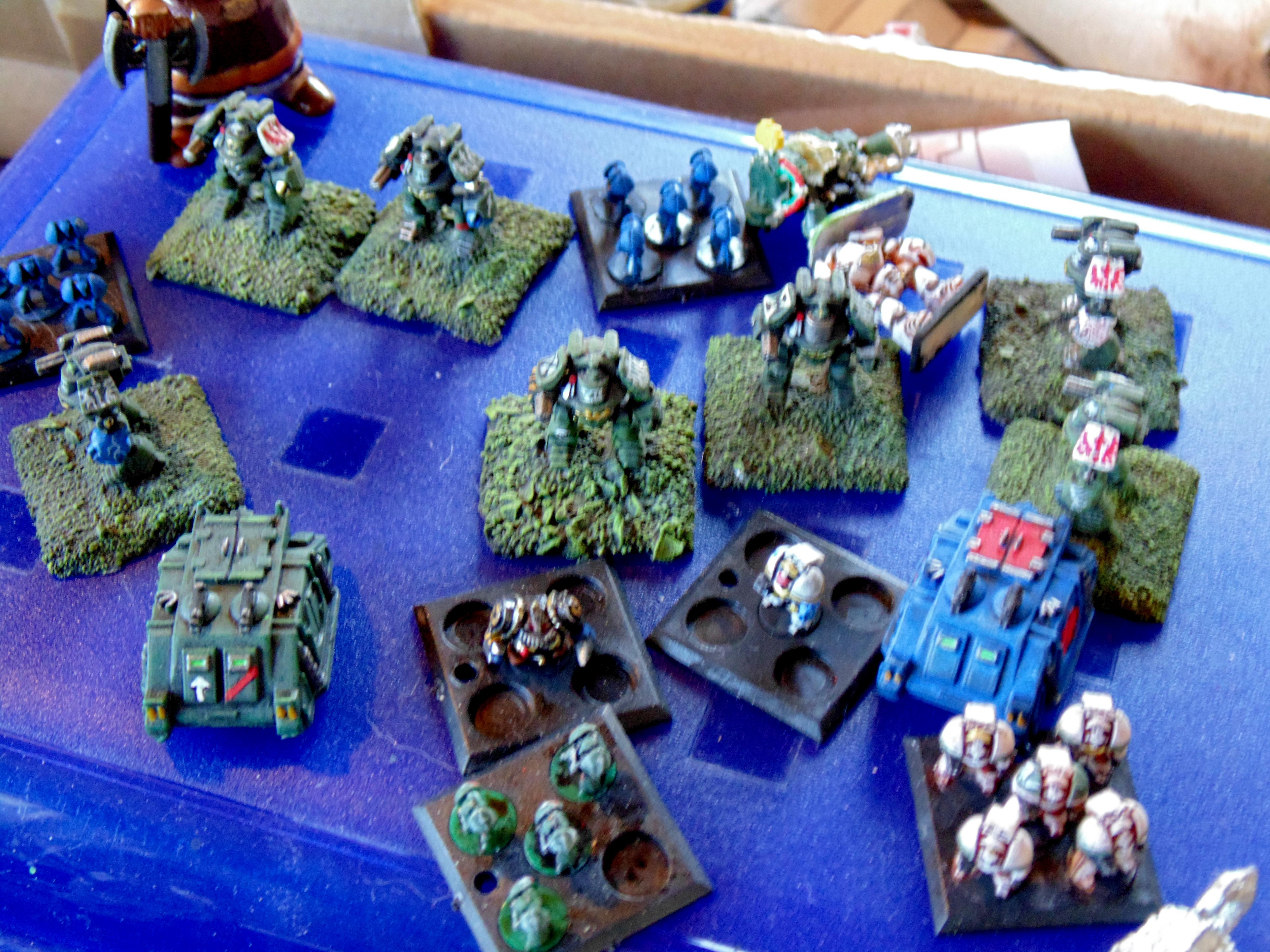 6mm, Astartes, Epic, Space Marines, Warhammer 40,000, Warhammer