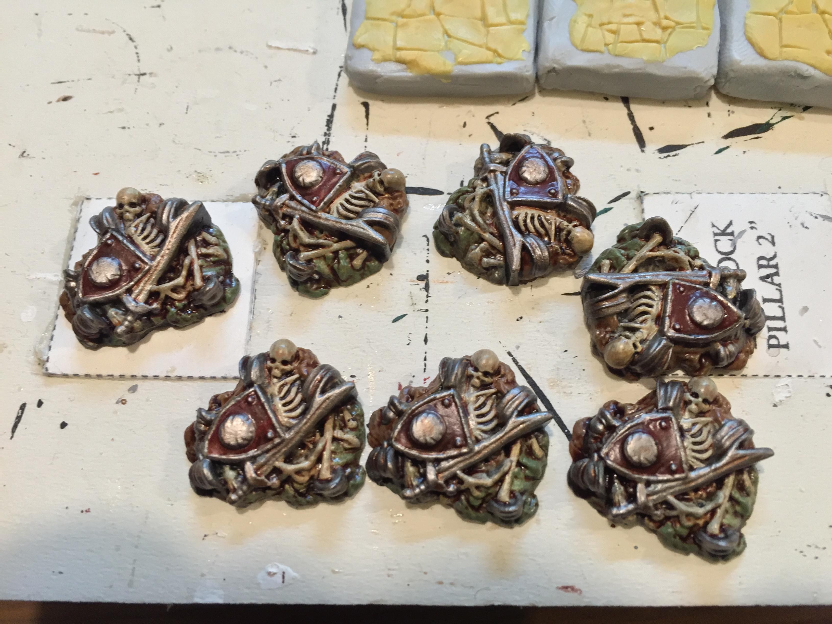 Image result for Dungeon Saga bone piles