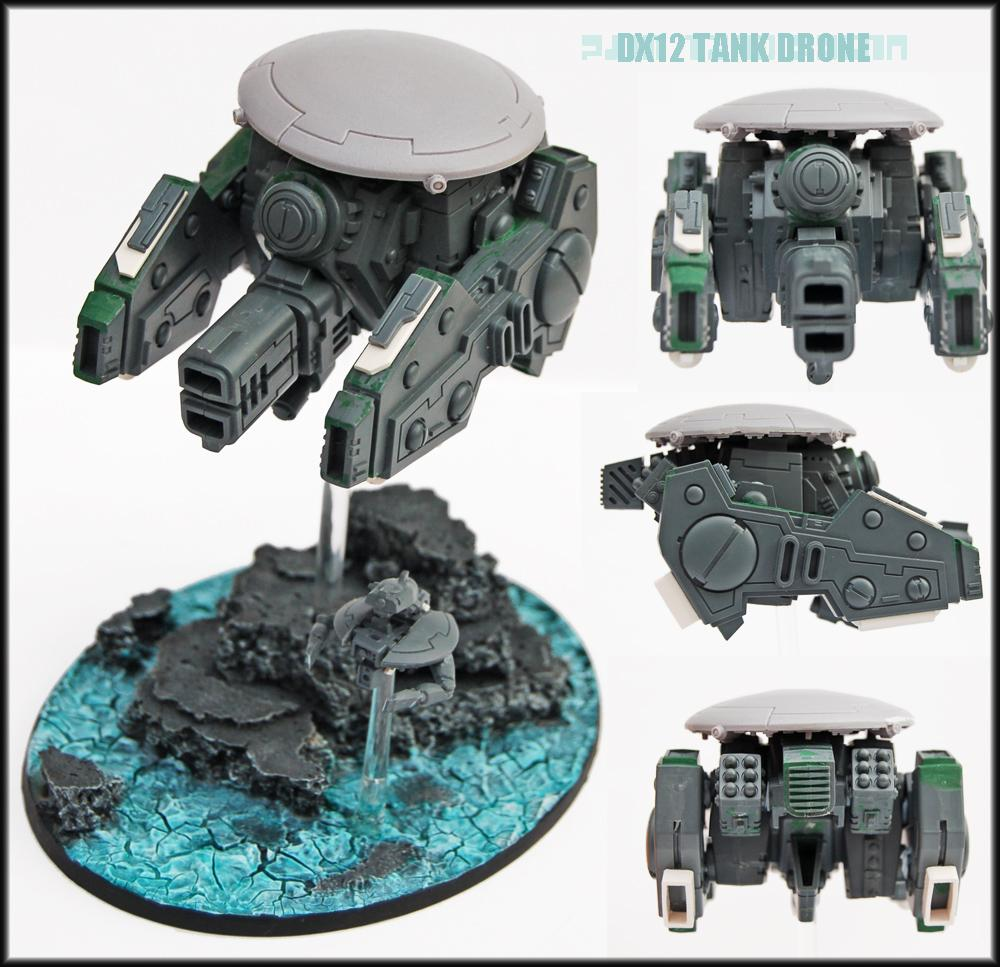 Conversion, Drone, Drones, Engineer Drone, Riptide, Tau  Tau Empire