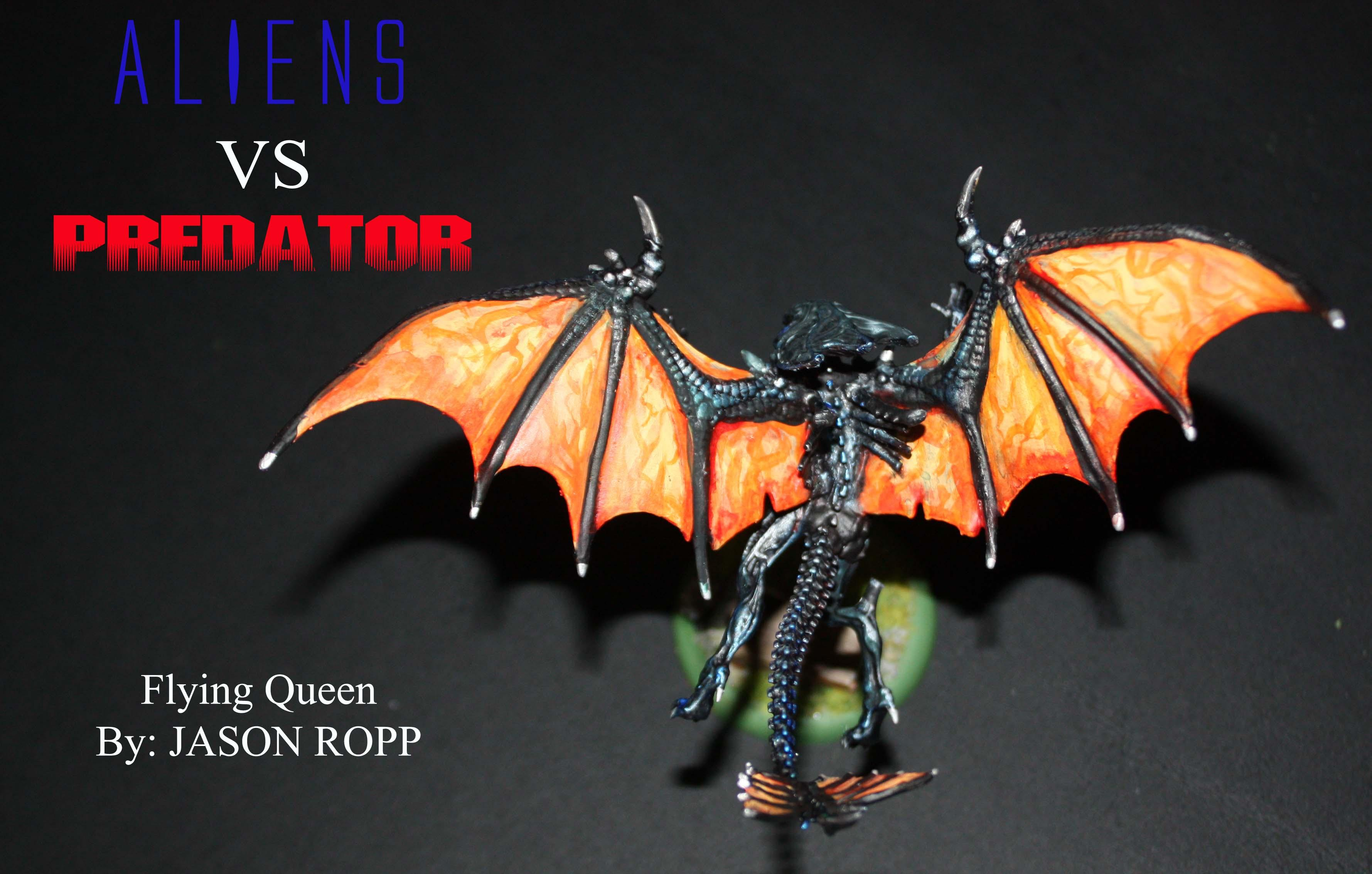28mm 32mm Alien Alienids Army Avp Crusher Flying Queen Game