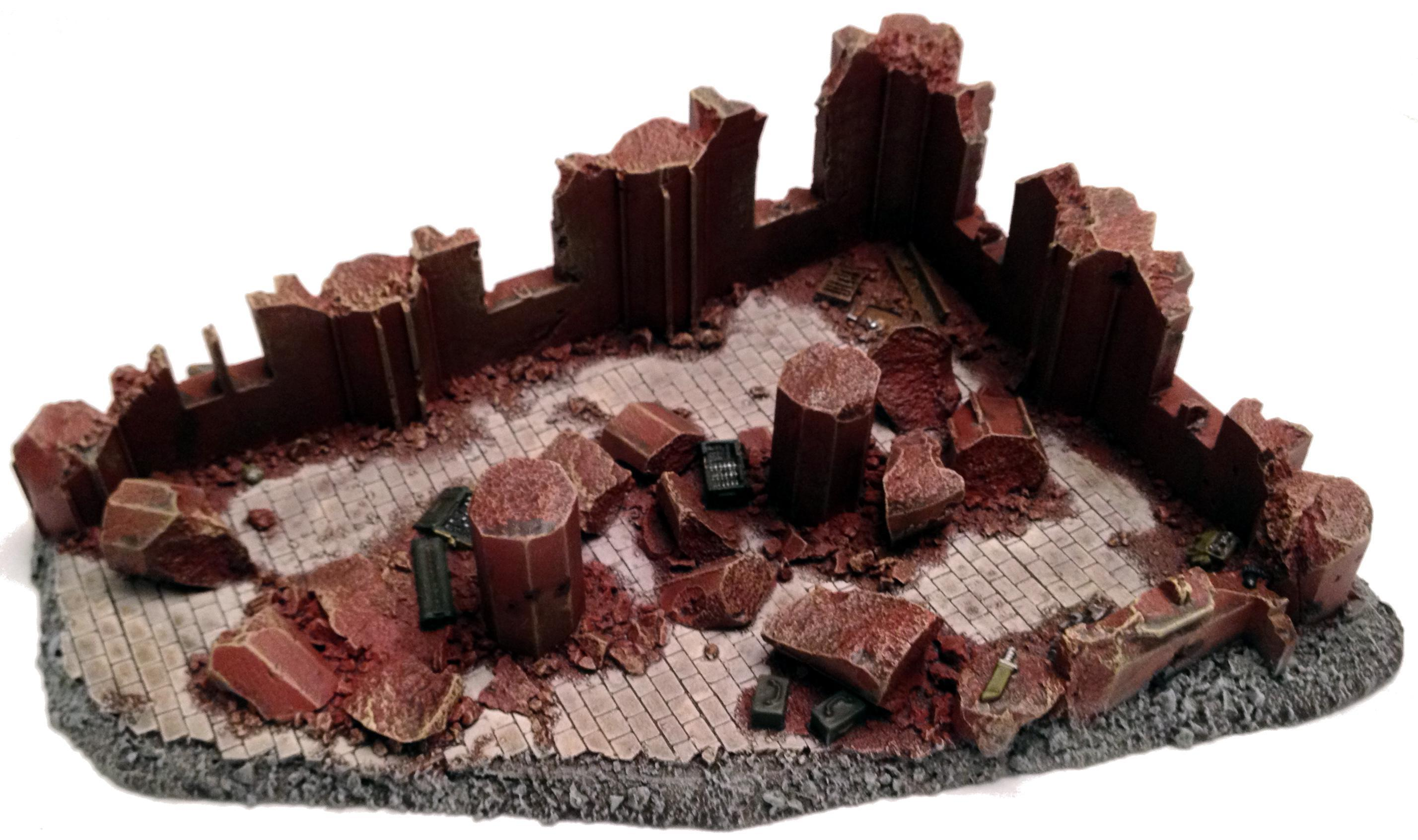 Cities Of Death, Forge World, Warhammer 40,000 - FW Ruined