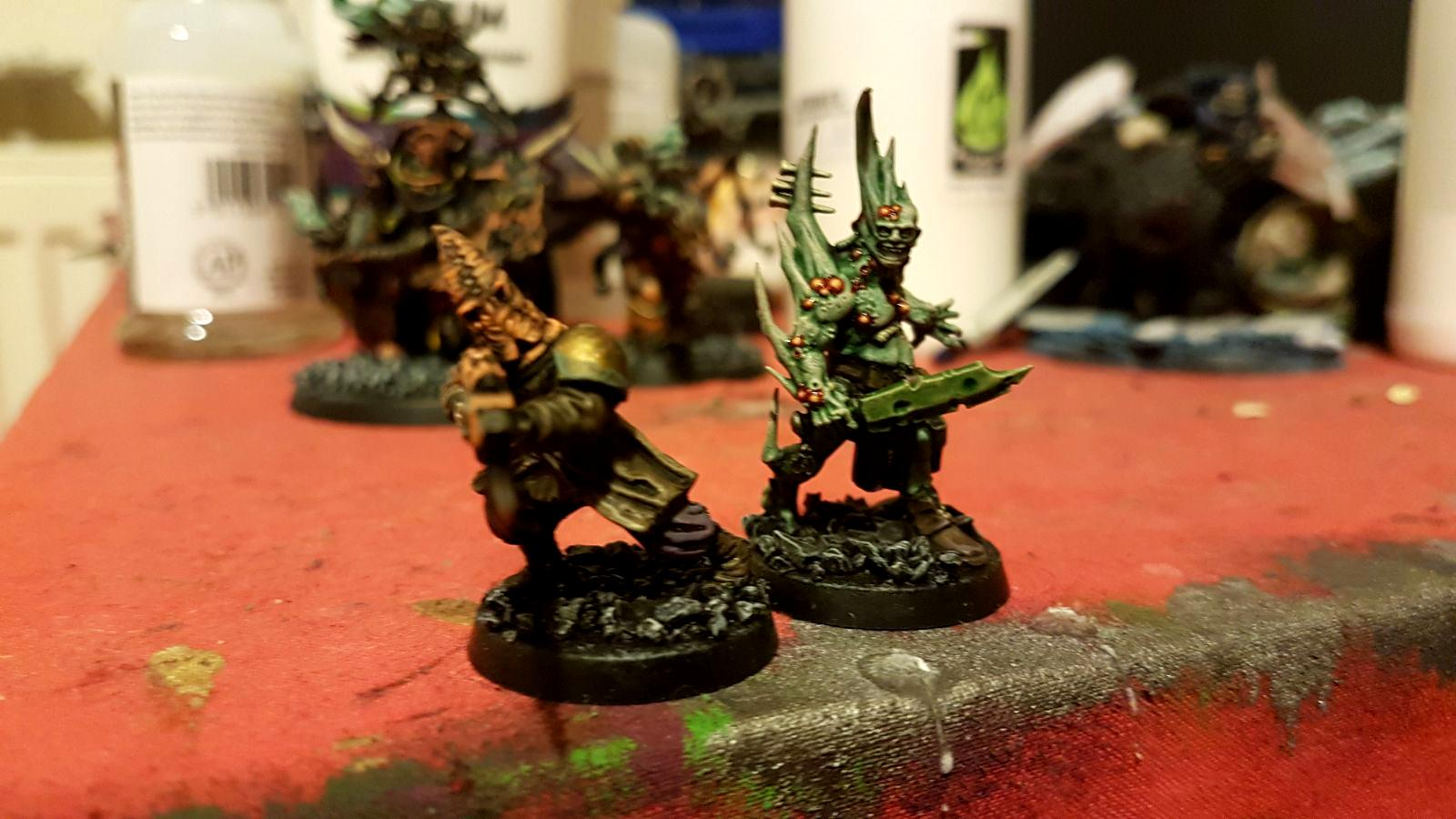 10 Chaos Space Marine Death Guard Poxwalkers
