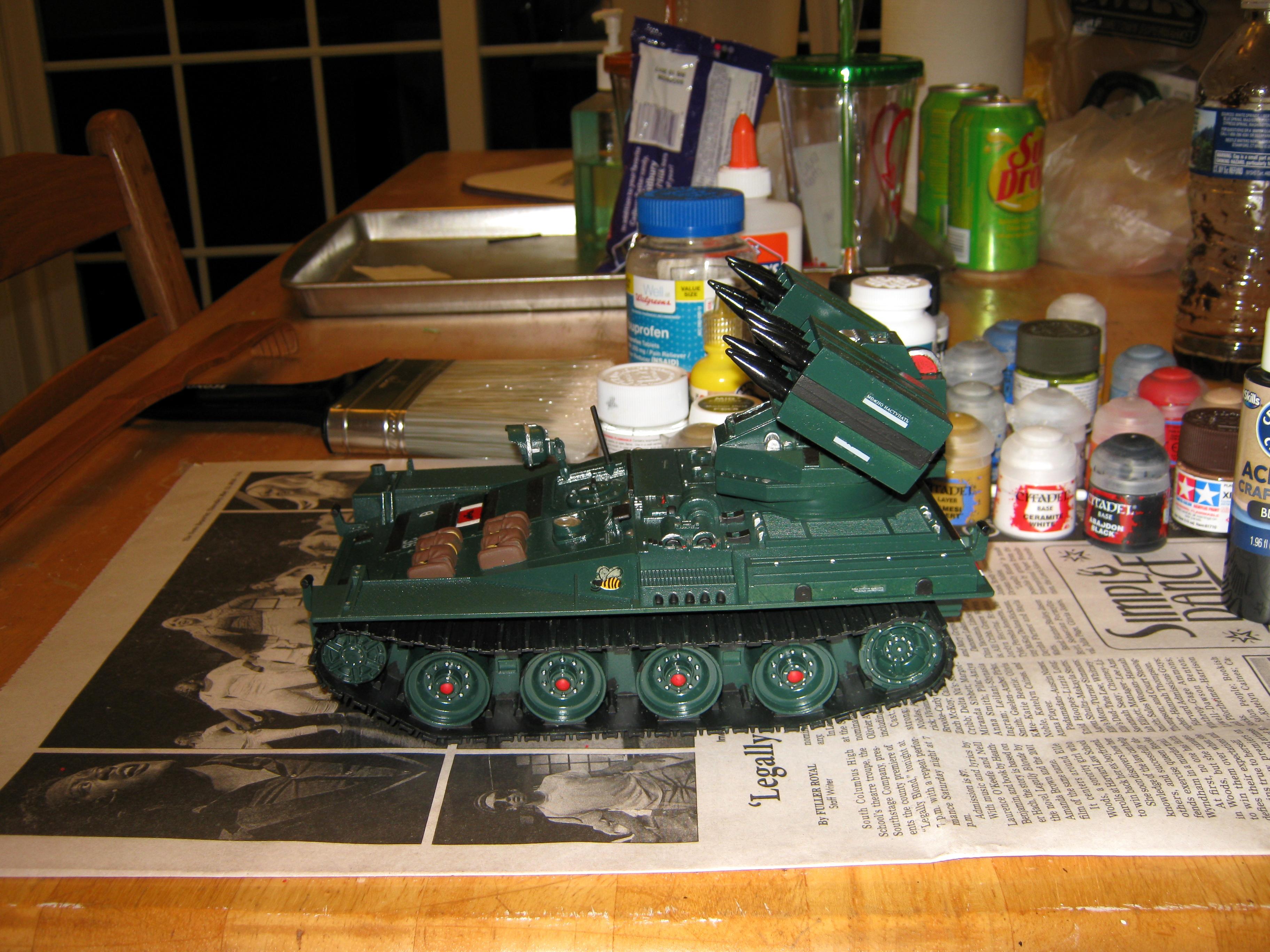 Afv, Artillery, Conversion, G i  Joe, Imperial, Missile