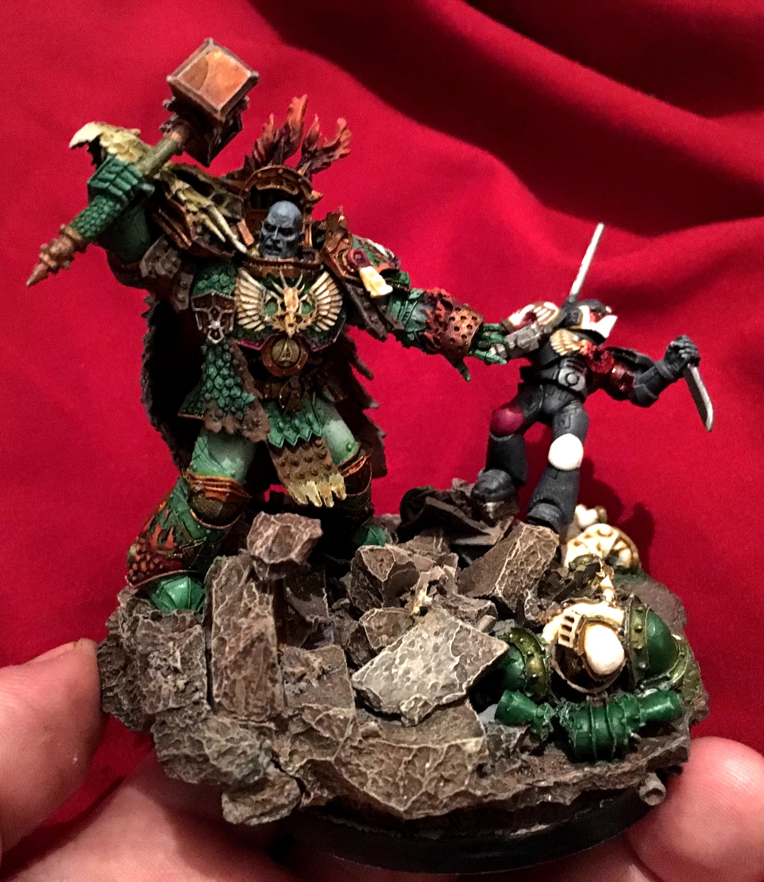 Horus Heresy, Primarch, Salamanders, Vulkan, Warhammer 30000