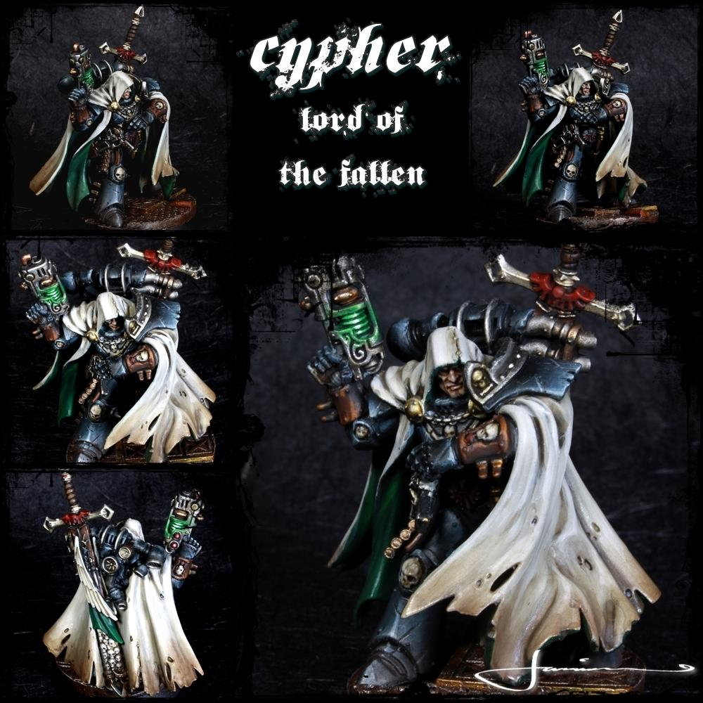 Cypher, Dark Angels, The Fallen, Warhammer 40,000 - Cypher - Lord Of